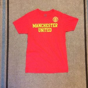 Manchester United Official Red Short Sleeve Tshirt